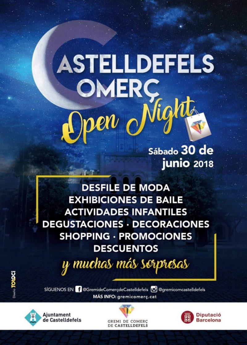 Open Night de Castelldefels en Gil Òptics